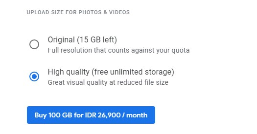 Akun Google Unlimited 3