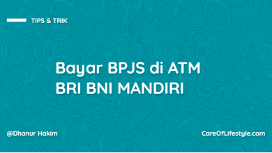 Photo of Cara Bayar BPJS di ATM BRI BNI MANDIRI