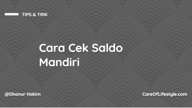 Photo of Cara Cek Saldo Mandiri