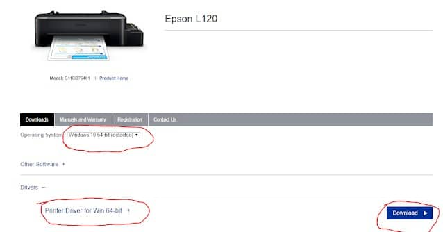 Download Driver Epson L120