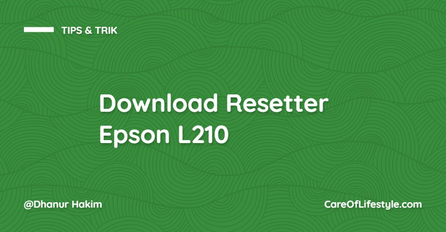 Download Resetter Epson L210