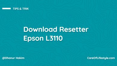 Photo of Resetter Epson L3110