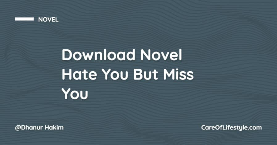 Download eBook Novel Hate You But Miss You PDF