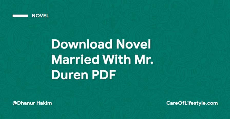 Download eBook Novel Married With Mr. Duren PDF